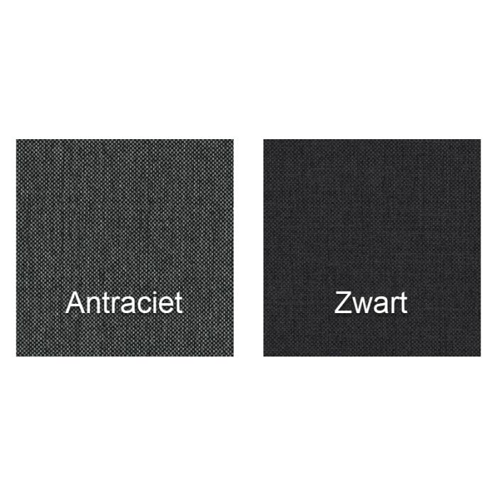 boxpsring direct leverbaar antraciet zwart
