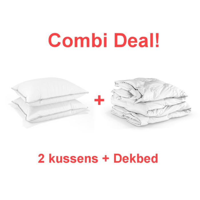 combi deal kussens dekbed