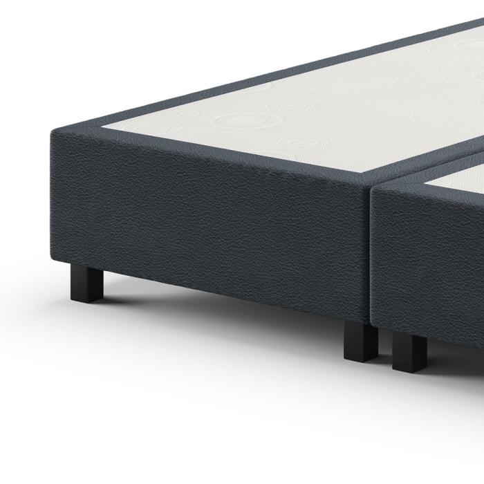 Home boxspring zonder matrassen met horizontale balken