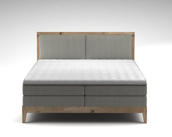 houten boxspring handerson ida bed
