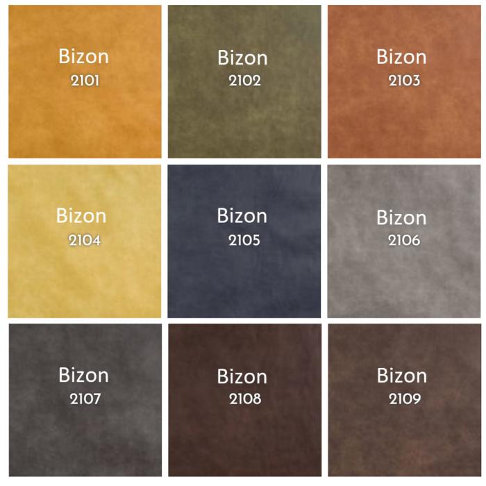 bizon kleur boxspring