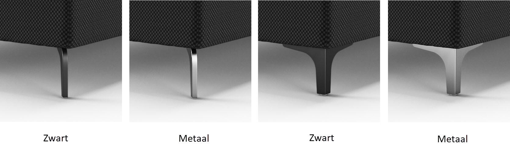metalen poten